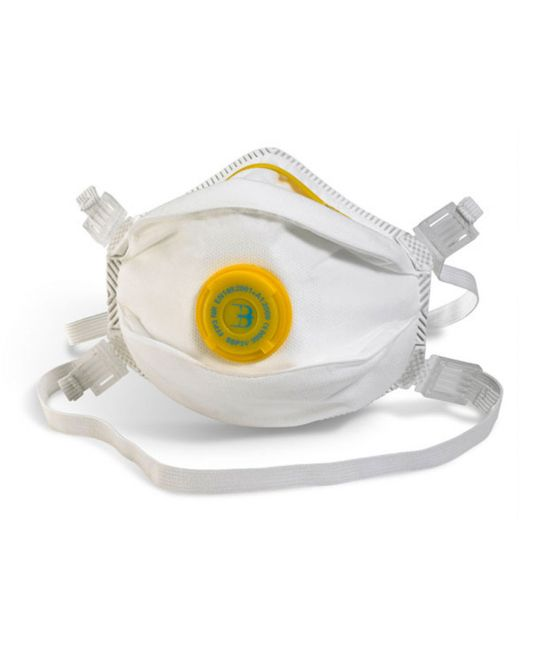 White P3 Valved Mask