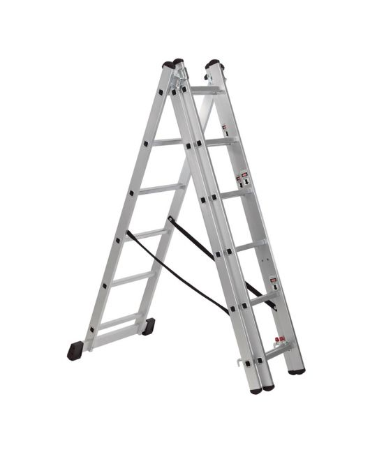 Draper Expert 6 Step Aluminium Combination Ladder