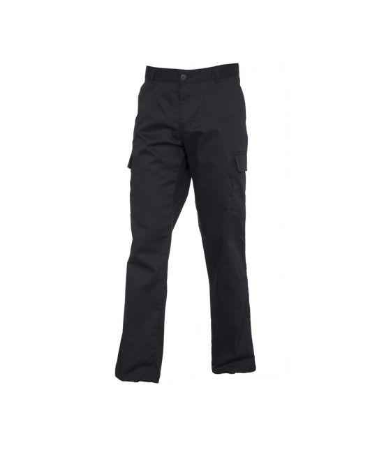 Ladies Cargo Trouser Black