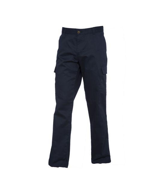 Ladies Cargo Trousers Navy