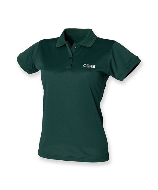 Ladies Classic Polo Shirt Green