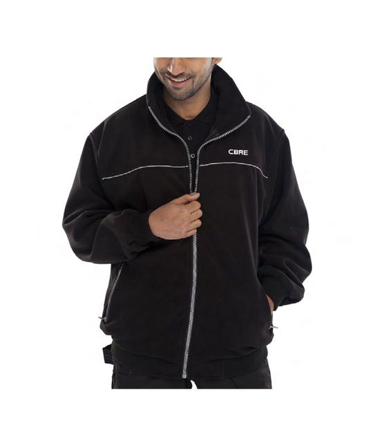 Premium Fleece Jacket Black
