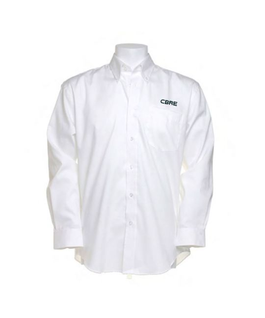 Long Sleeve Premium Oxford Shirt White