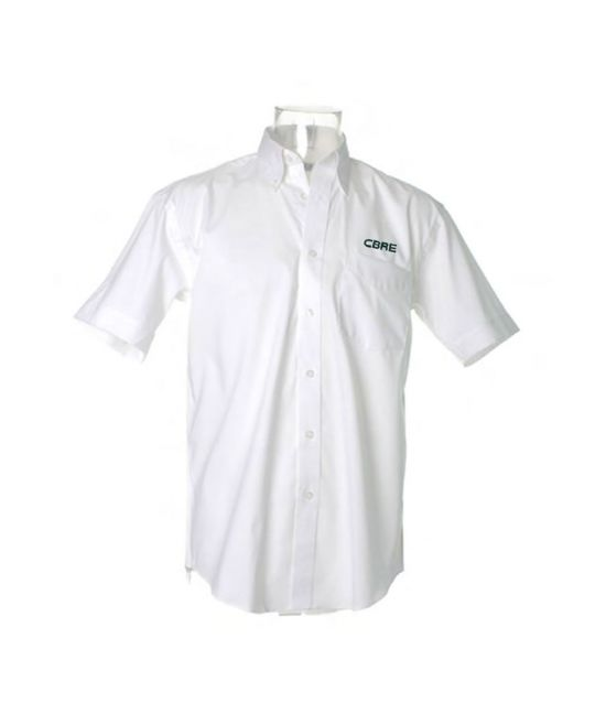 Short Sleeve Premium Oxford Shirt White