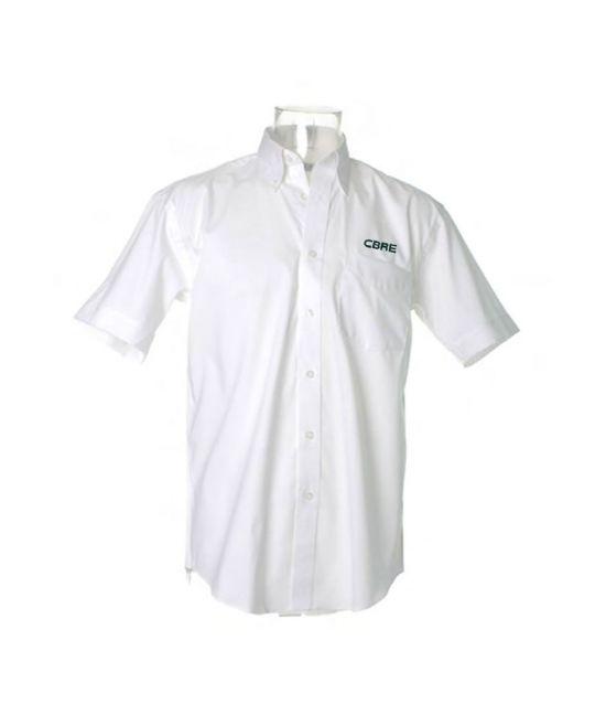 Short Sleeve Premium Oxford Shirt White