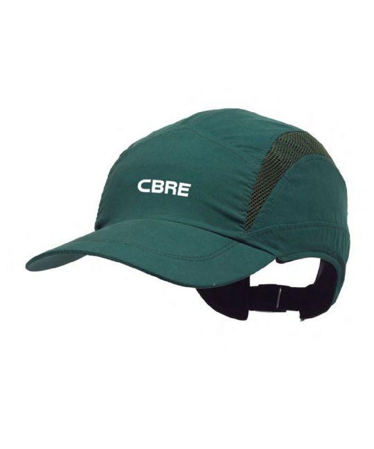 First Base Safety Bump Cap Green