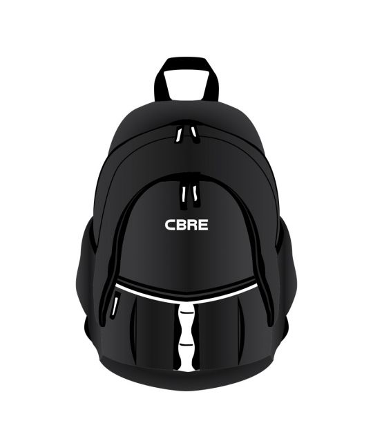 Backpack Black With CBRE Logo