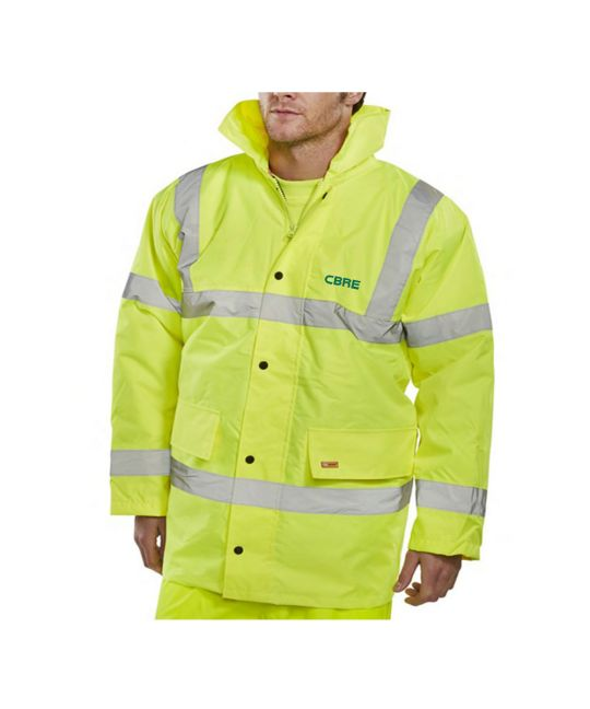 Hi-Visibility Constructor Jacket Saturn Yellow