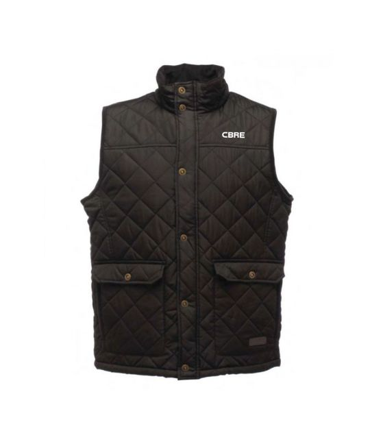 Quilted Body Warmer Black