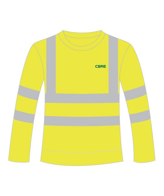 Hi-Visibility Sweatshirt Saturn Yellow
