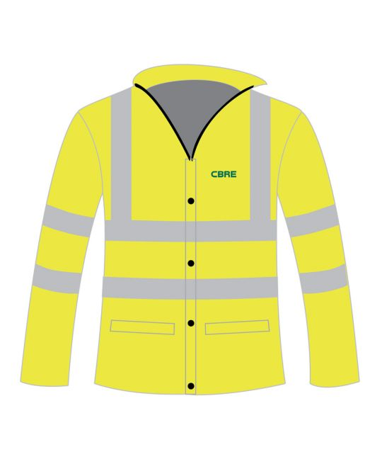 Executive Hi-Visibility Jacket Saturn Yellow