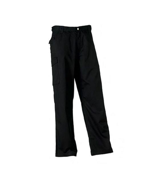Heavy Duty Work Trousers Black