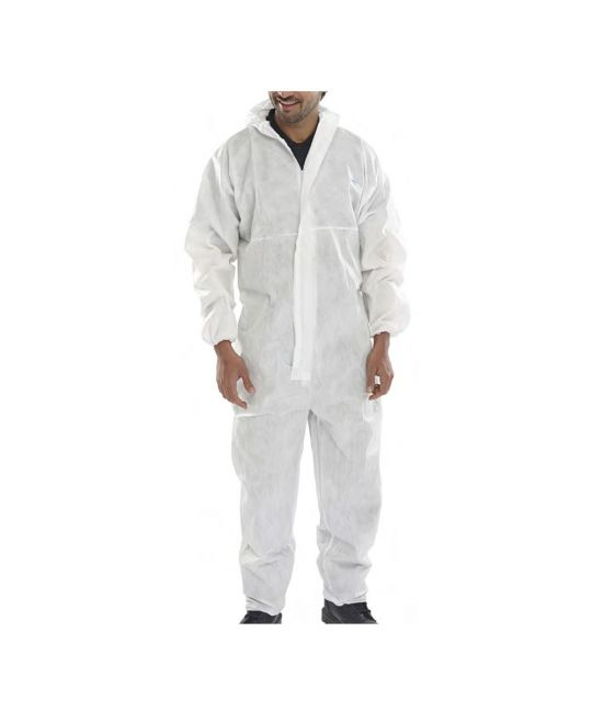 Disposable Boilersuit Type 5/6 White