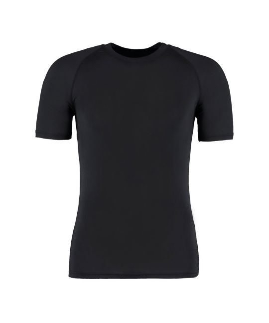 Warmtex Short Sleeve Base Layer Black