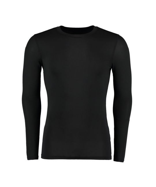 Warmtex Long Sleeve Base Layer Black