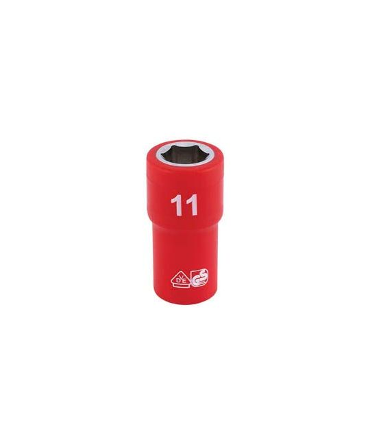 "1/4"" Sq. Dr. Fully Insulated VDE Socket (11mm)"