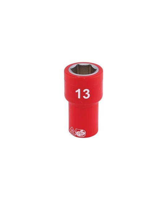 "1/4"" Sq. Dr. Fully Insulated VDE Socket (13mm)"