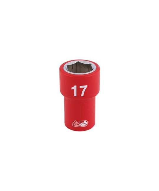 "3/8"" Sq. Dr. Fully Insulated VDE Socket (17mm)"