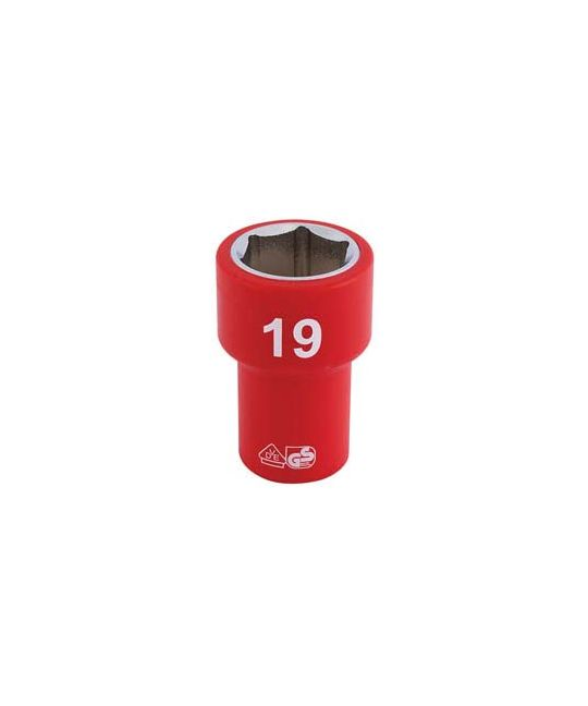 "3/8"" Sq. Dr. Fully Insulated VDE Socket (19mm)"