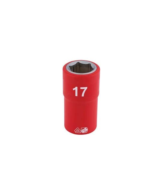 "1/2"" Sq. Dr. Fully Insulated VDE Socket (17mm)"