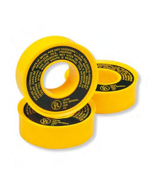 Gas PTFE Tape (Pack of 5)