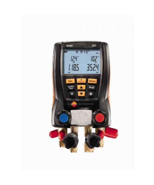 Testo 557 Digital Manifold With Bluetooth Connection