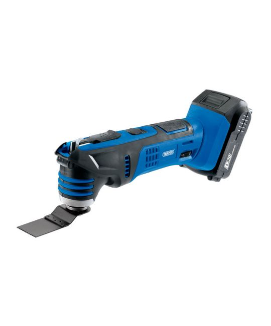 Draper D20 Oscillating Multi Tool With 1x 2.0Ah Battery and Charger