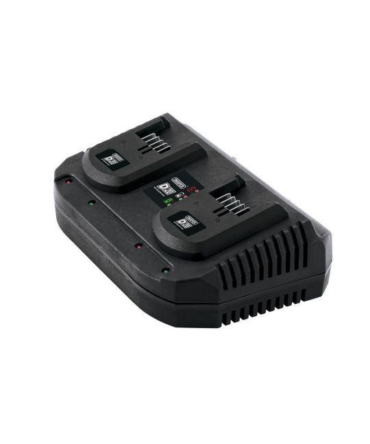 Draper D20 Twin Battery Charger