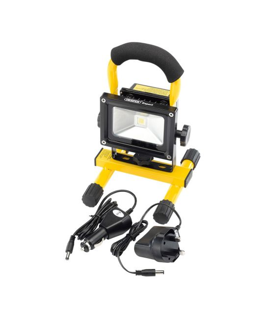 Draper Expert 10W COB LED Rechargeable Worklight (800 Lumen)