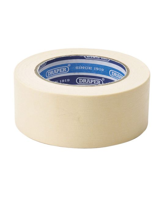 Draper Masking Tape Roll (50mm x 50m)