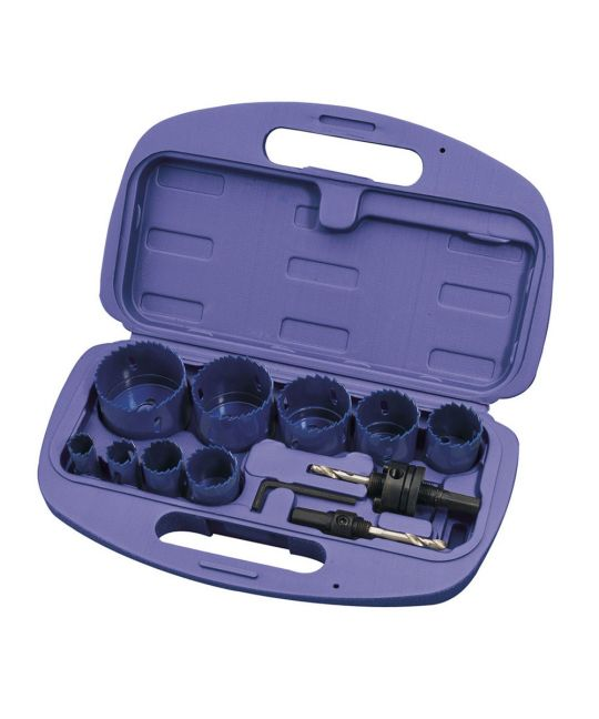 Draper Expert 12 Piece Holesaw Kit