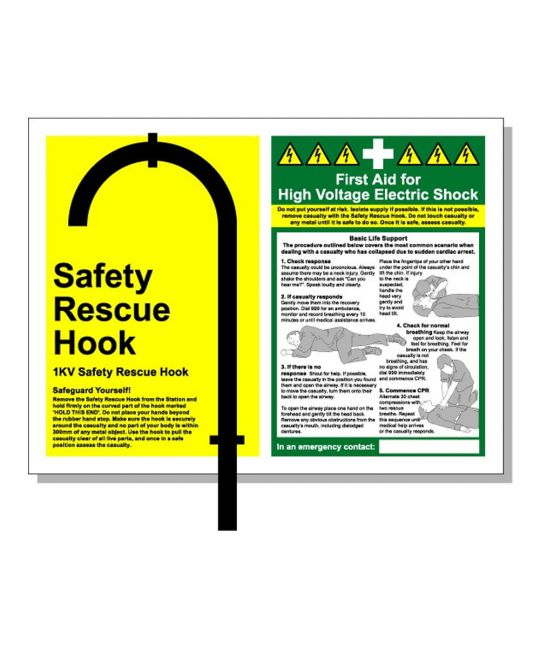 1kV Safety Hook Mounting Station