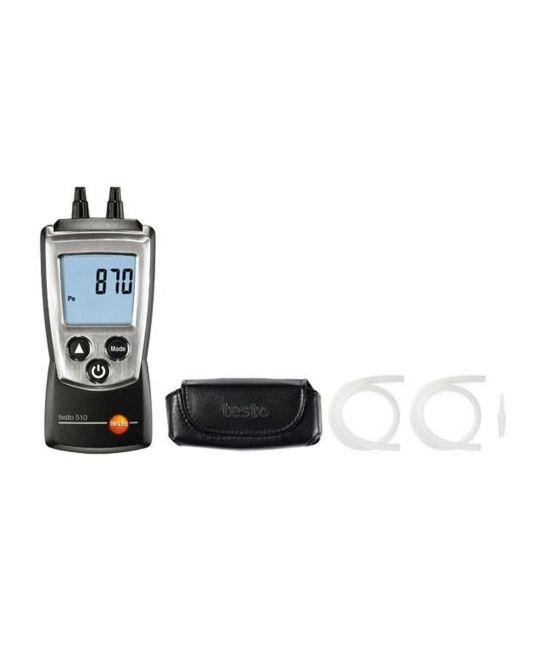 Testo 510 Digital Manometer (With Hoses)