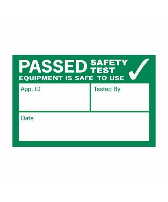 Kewtech Pass PAT Testing Label (Pack of 500)