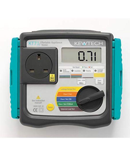 Kewtech KT71 Pro Kit (PAT Testing Kit)