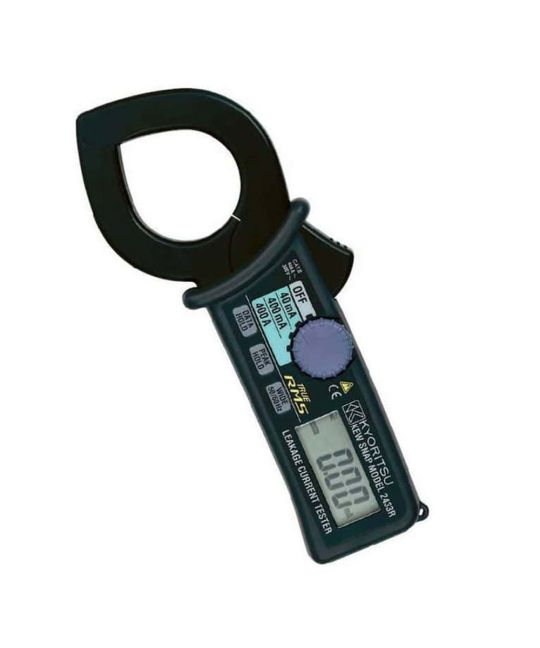 Kewtech 2433R 400A Earth Leakage Clamp Meter