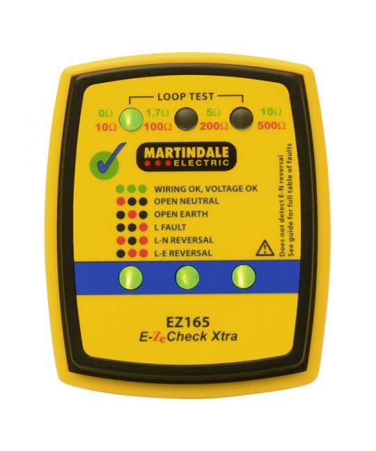 Martindale EZ165 Socket & Non-Trip Earth Loop Tester