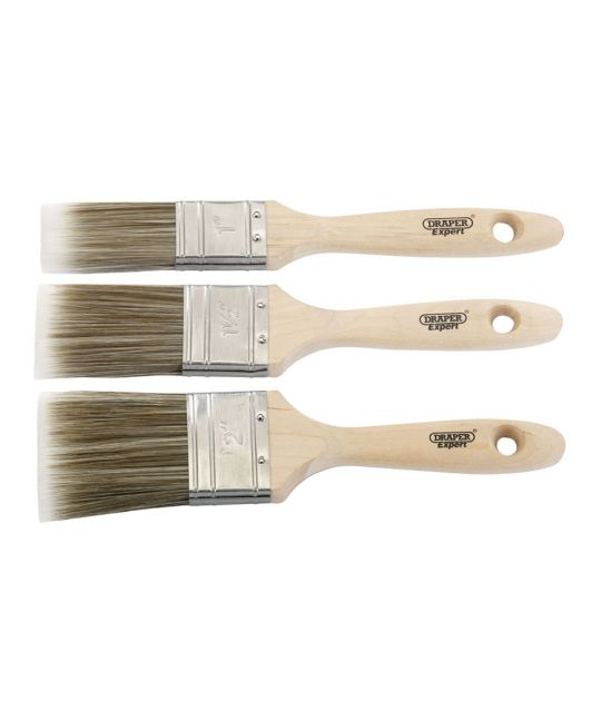Draper Expert Paint Brush Set (3 Piece)