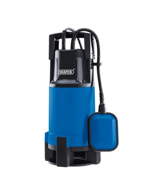 Draper 216l/min 110V Submersible Dirty Water Pump With Float Switch (750W)