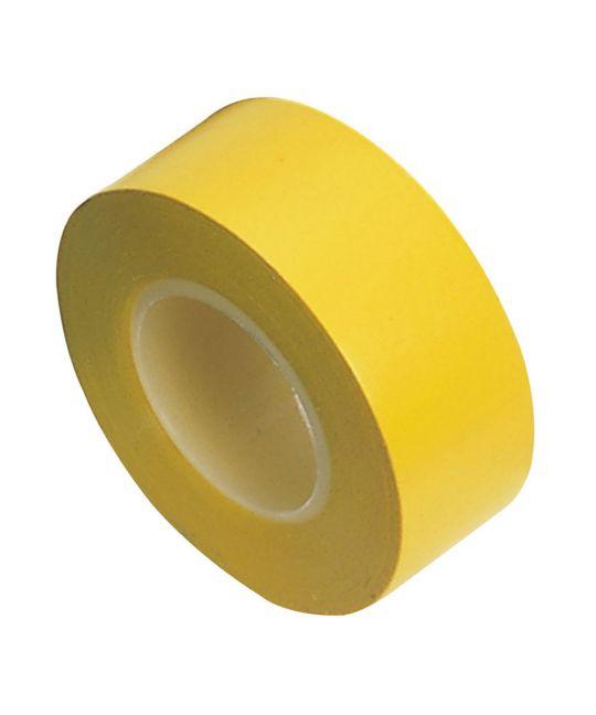 Draper Expert Yellow Insulation Tape To BSEN60454/TYPE2 19mm x 10m (Pack of 8)
