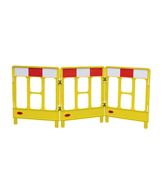 Workgate Yellow 3 Gate Barrier