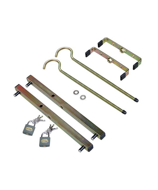 Rack Clamps With Padlocks