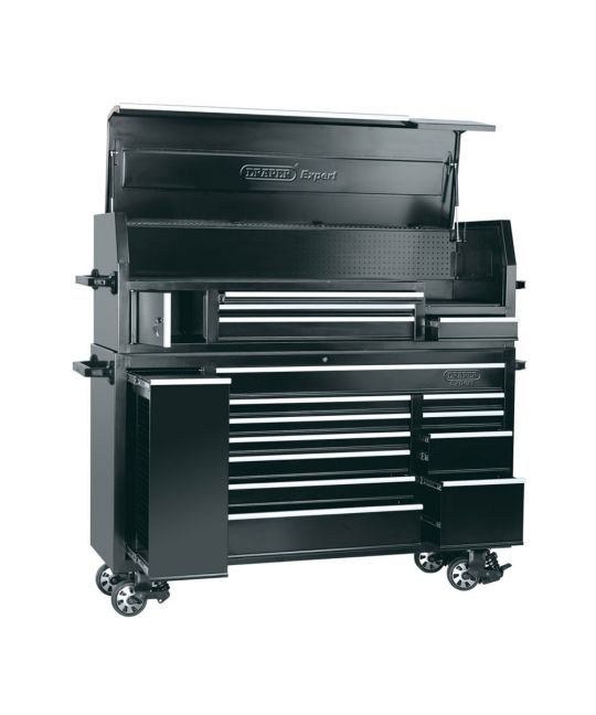 "72"" Combined Roller Cabinet And Tool Chest (15 Drawer)"