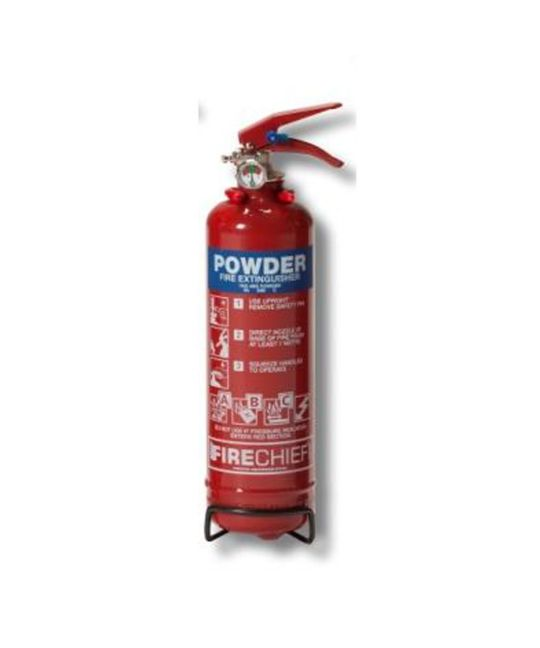 Firecheif XTR 1kg Powder Extinguisher