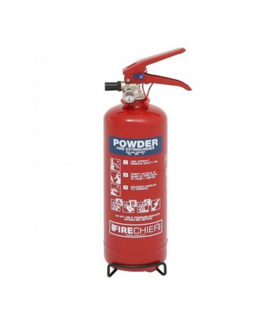 Firecheif XTR 2kg Powder Extinguisher