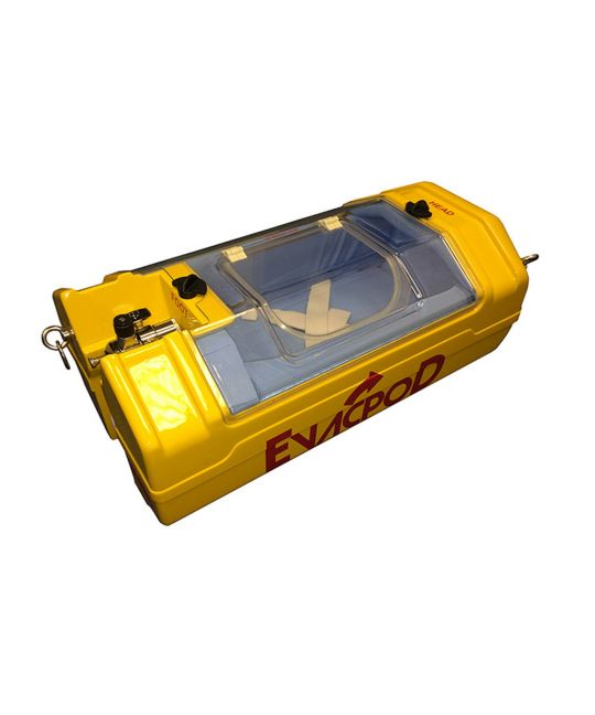EVAC+CHAIR Evacuation Pod