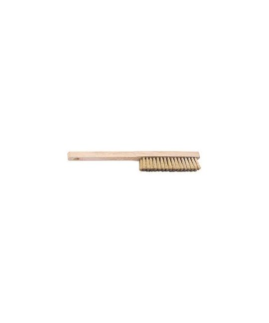 Brass Fill Wire Hand Brush (225mm)