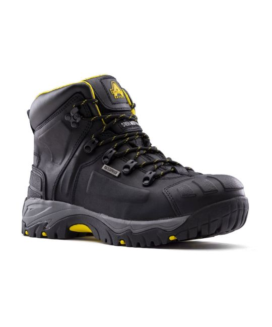 Wide Fit Safety Boot S3 Black