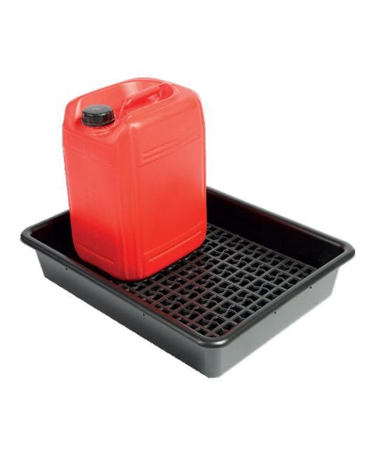 Drum Tray With Container Grid For 2x 20l 64 x 49 x 12cm (28l Sump)