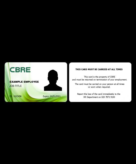 CBRE ID Card
